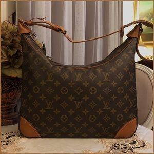 Authentic Louis Vuitton Boulogne 35